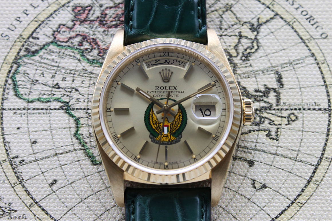 Rolex Day Date UAE Ref. 18038 Year 1980