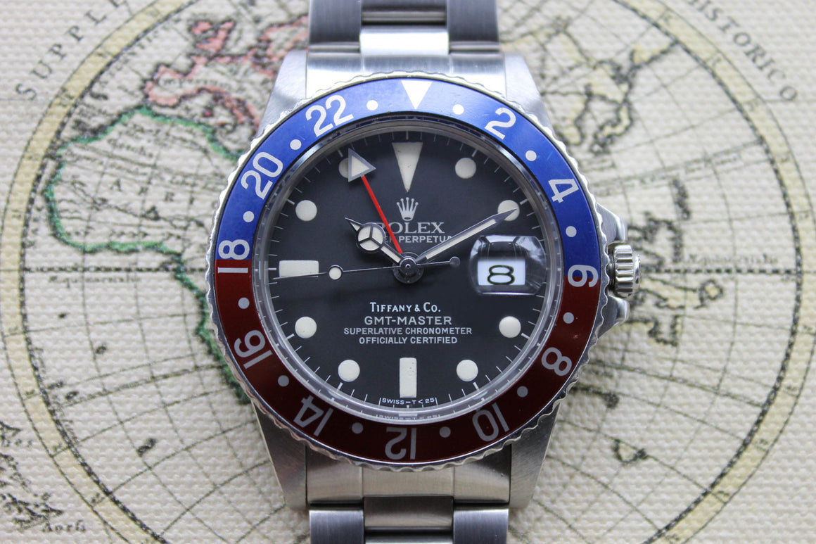 1975 - Rolex GMT Master 'Tiffany & Co.' - Momentum Dubai