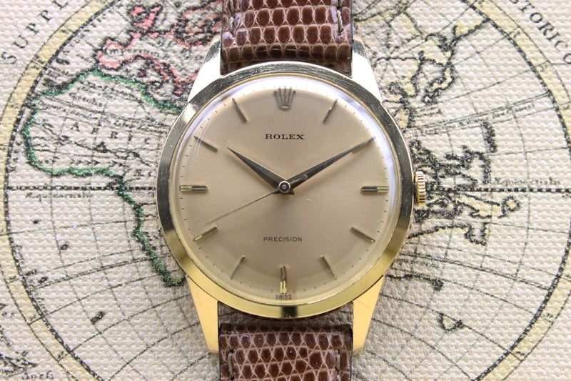 1960 Rolex Dress Watch Oversized Ref. 9004