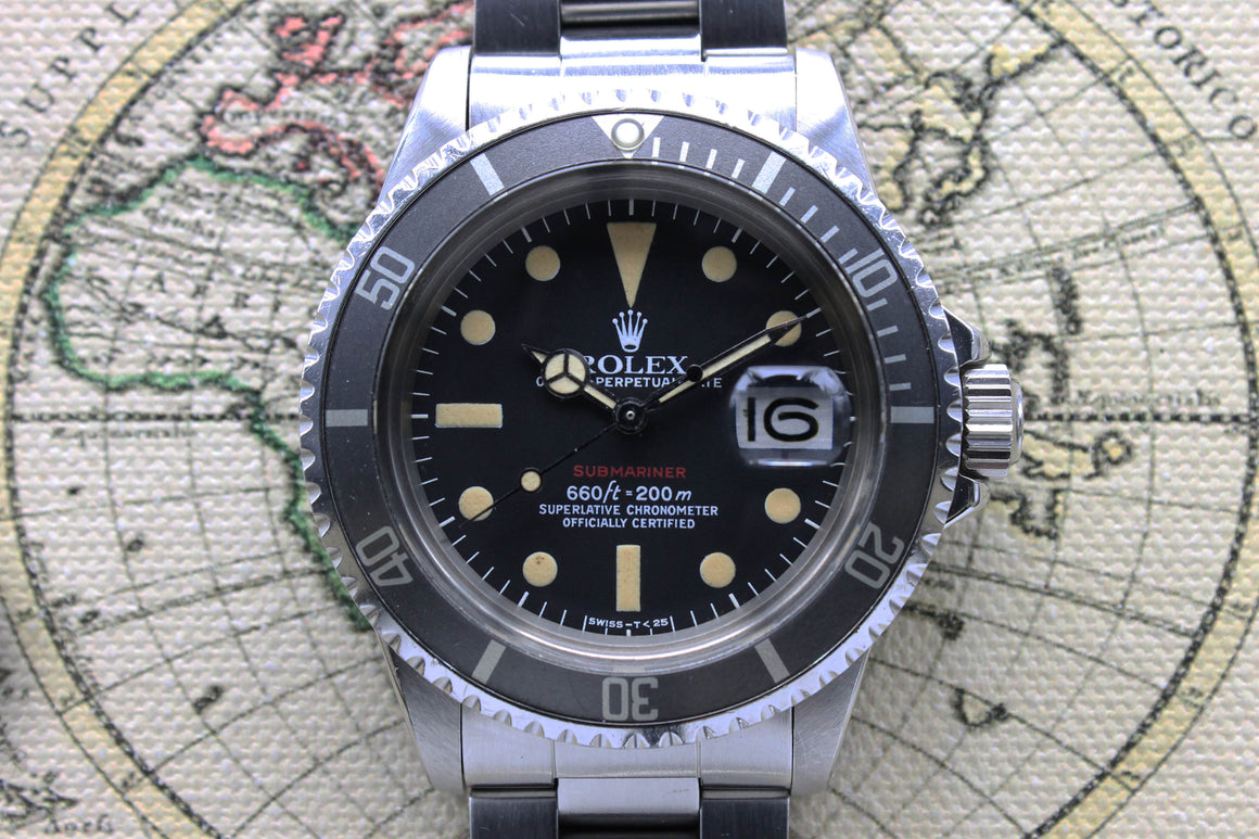 Rolex Red Submariner MK6 Ref. 1680 Year 1972