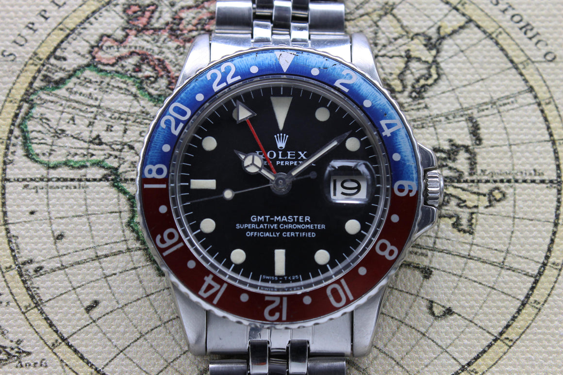 Rolex GMT Master Ref. 1675 Year 1971 (Full Set)