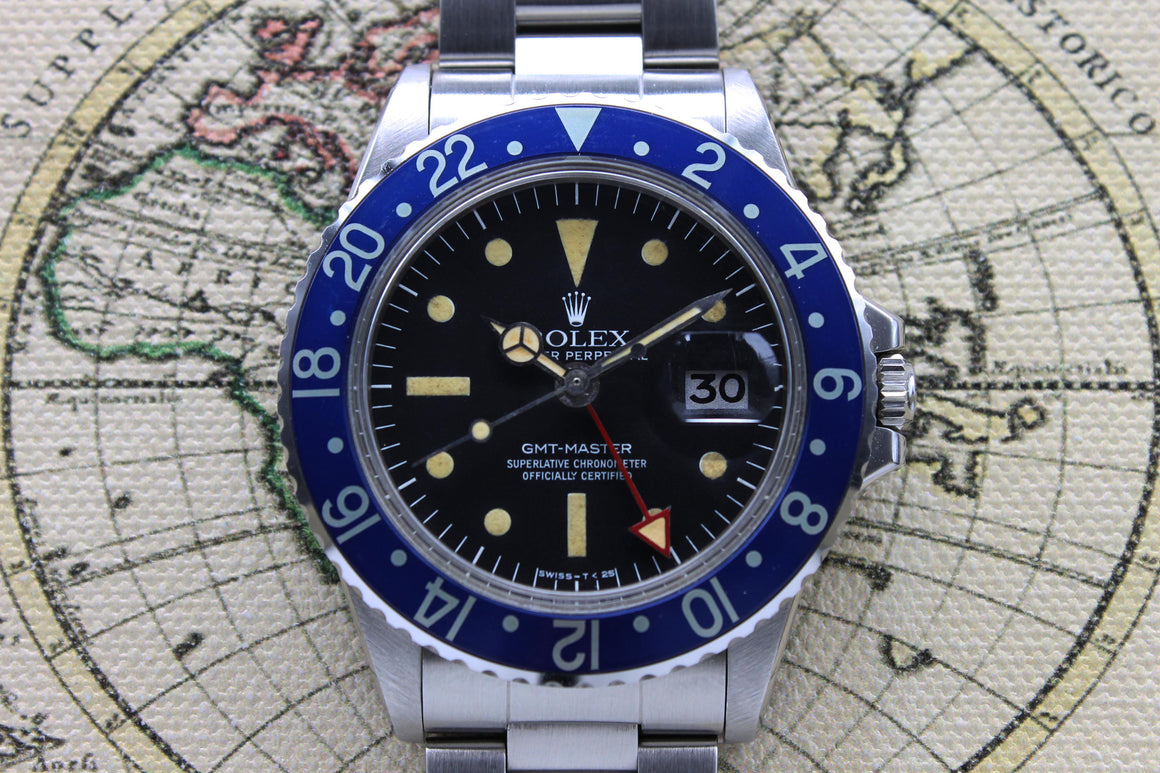 Rolex GMT Master Radial Ref. 1675 Year 1978 (Full Set) - Price on Request