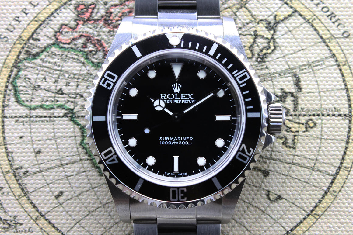 Rolex Submariner Ref. 14060 Year 2000 (Full Set)