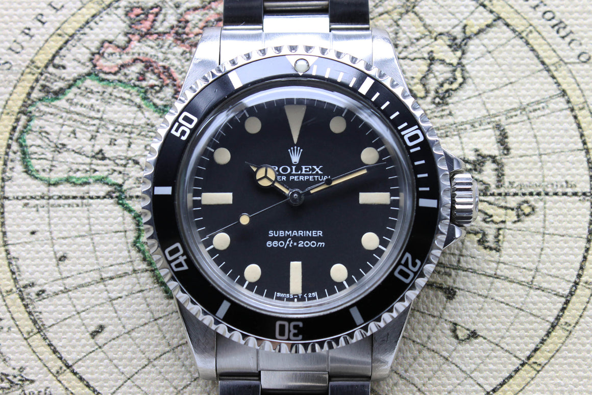 Rolex Submariner Ref. 5513 Year 1979