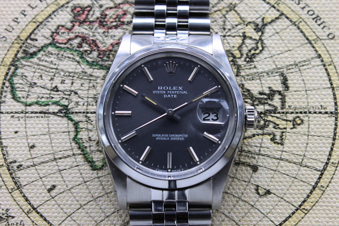Rolex Oyster Perpetual Date Ref. 15000 Year 1982