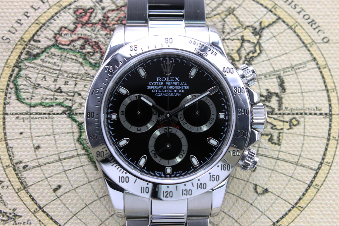 Rolex Daytona Ref. 116520 Year 2006 (with Box & Papers)