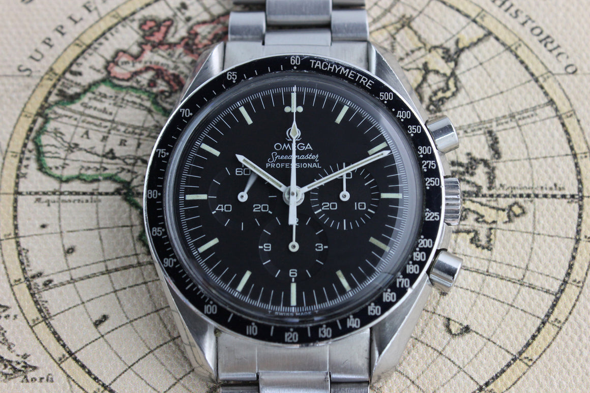 1983 - Omega Speedmaster Professional (With Certificate, Booklet, Purchase Receipt) - Momentum Dubai