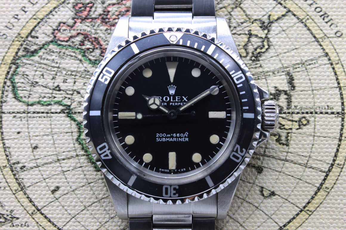 Rolex Submariner Ref. 5513 Year 1969
