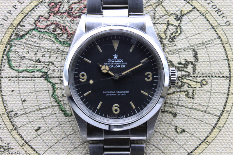 1971 Rolex Explorer I Frog Leg Ref. 1016 (Full Set)