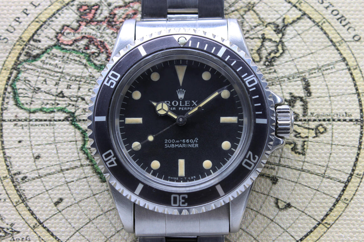 1968 Rolex Submariner Meter First Ref. 5513