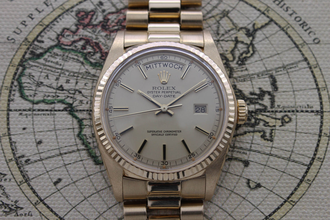 Rolex Day Date Lemon Dial Ref. 1803 Year 1972- (with Box)
