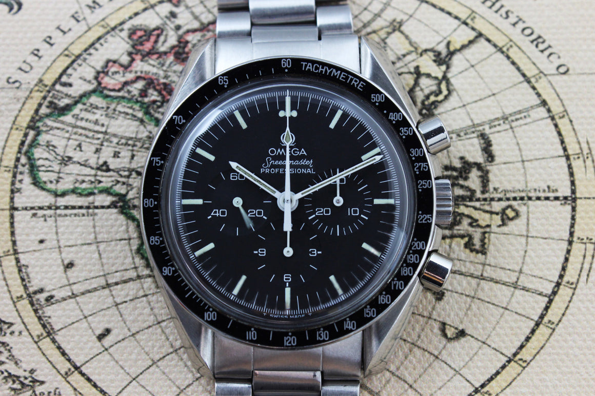 1984 - Omega Speedmaster Professional (with pouch and papers) - Momentum Dubai