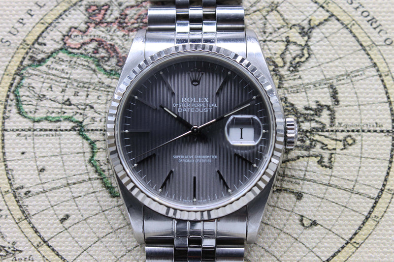 Rolex Datejust St/WG Ref. 16234 Year 1991 (Full Set)