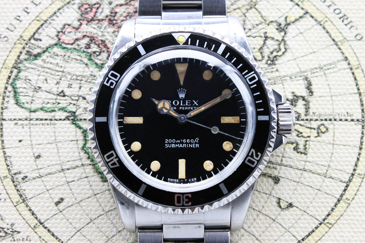 Rolex Submariner Meter First Ref. 5513 Year 1967