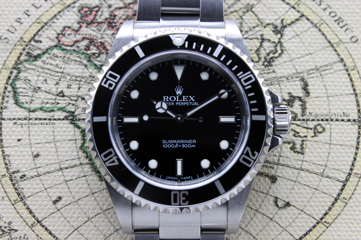 Rolex Submariner No Date Ref. 14060M Year 2006 (Full Set)