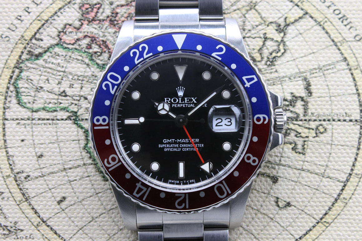 1988 Rolex GMT Master Ref. 16750 (with Papers)