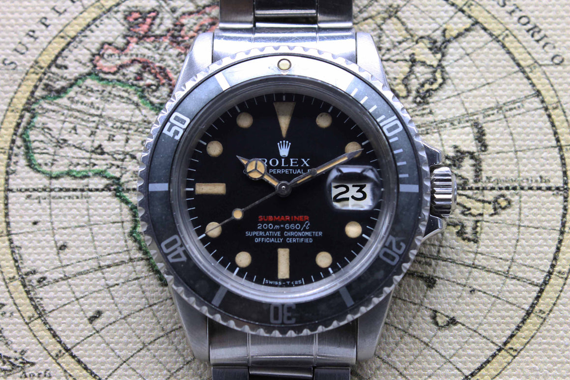 Rolex Red Submariner Ref. 1680 Year 1969 (Full Set)