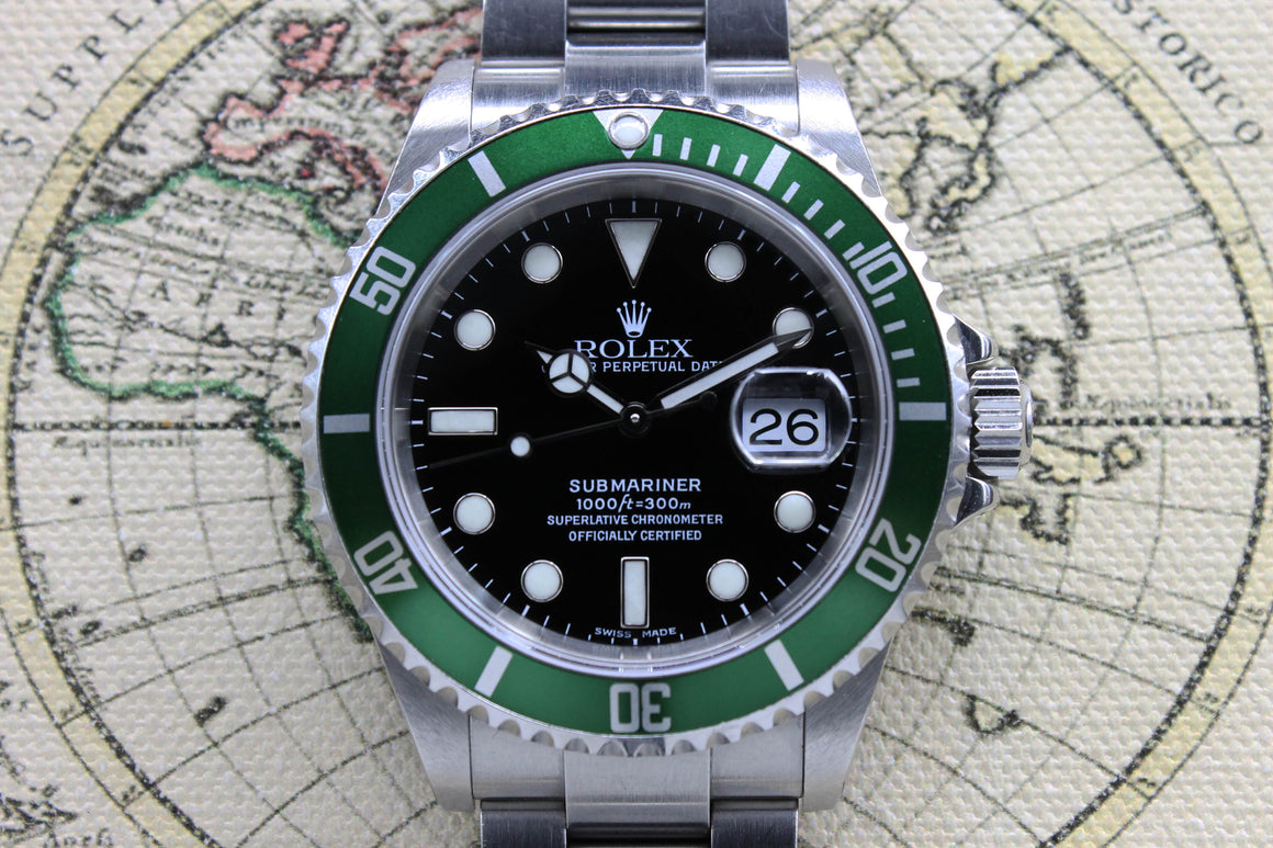 Rolex Submariner 50th Anniversary Ref. 16610T Year 2005