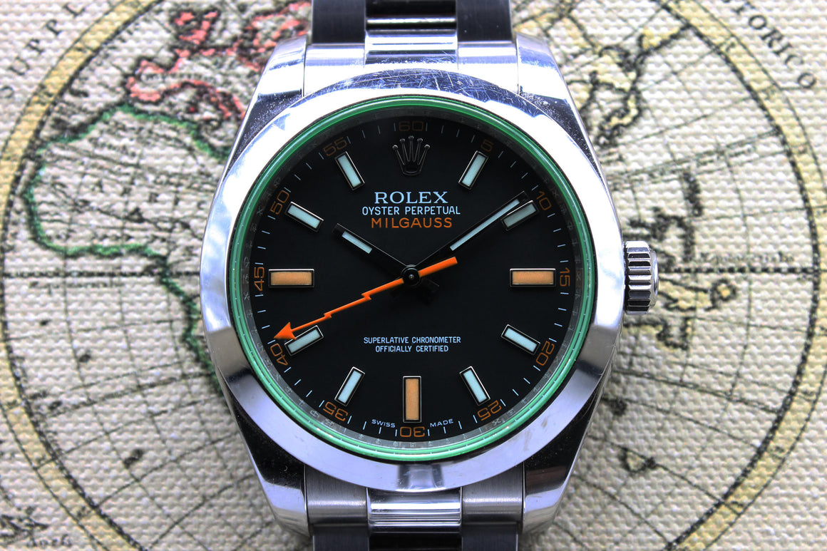Rolex Milgauss Ref. 116400GV Year 2009 (Full Set)
