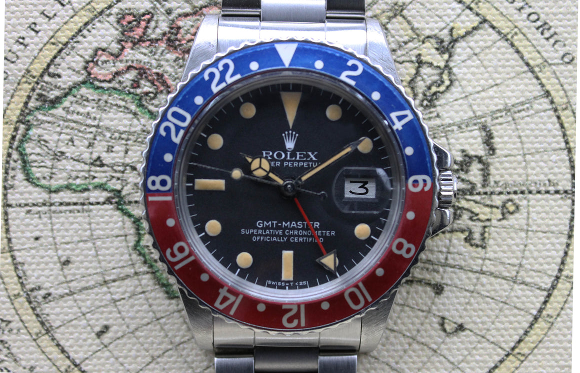 Rolex GMT Master MK4 Ref. 1675 Year 1978 (Full Set)