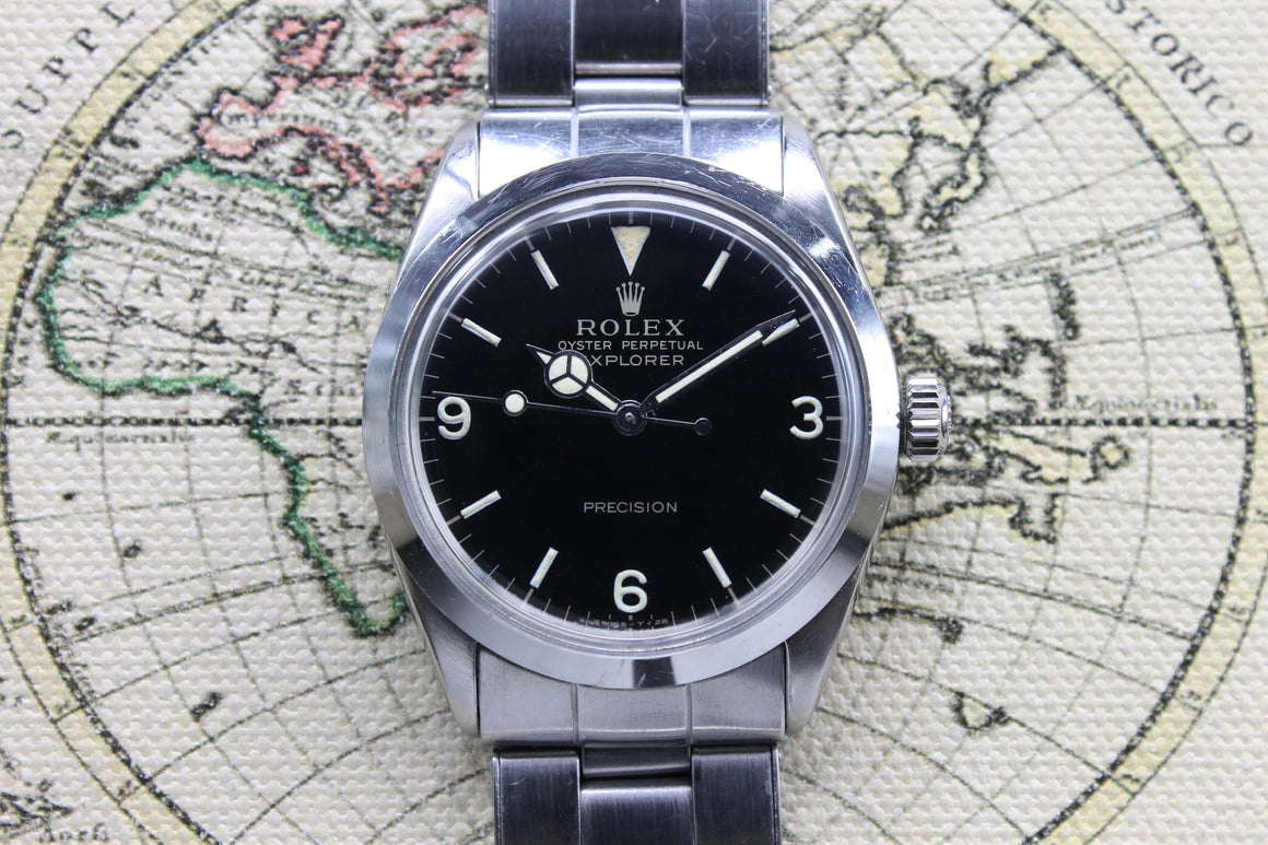 Rolex Air King Explorer Ref. 5500 Year 1965