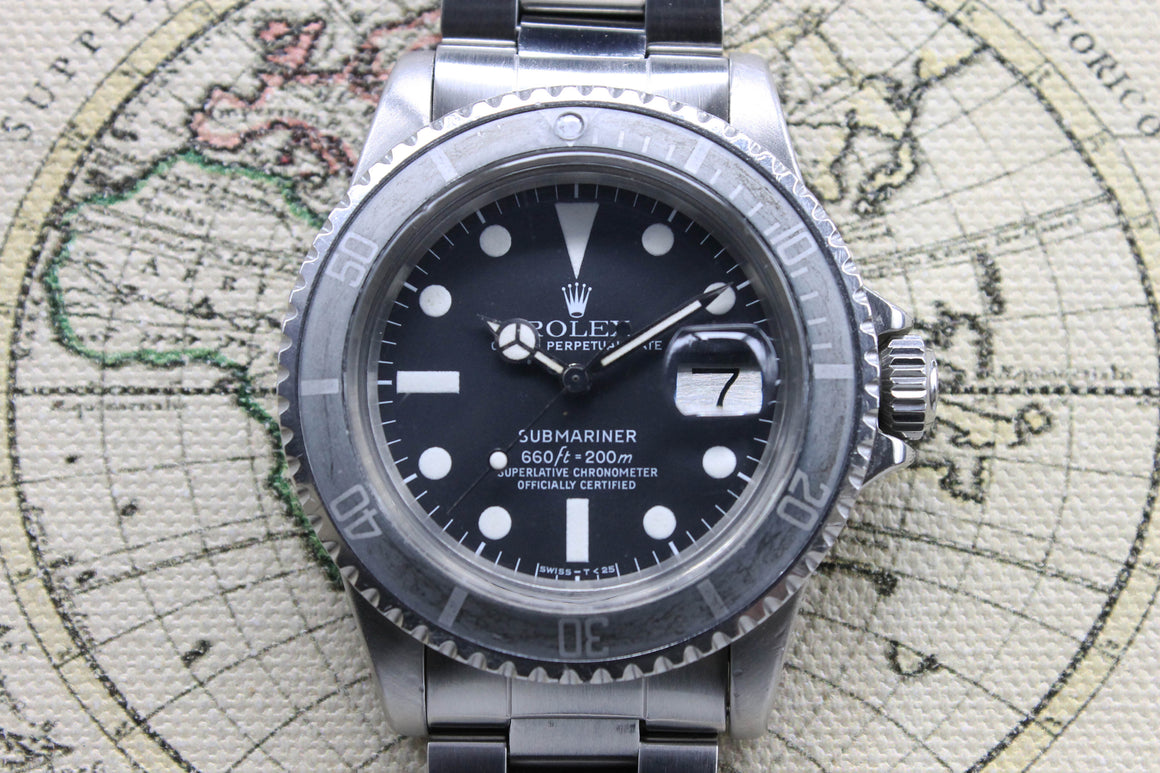 Rolex Submariner Date Ref. 1680 Year 1977 (Full Set)