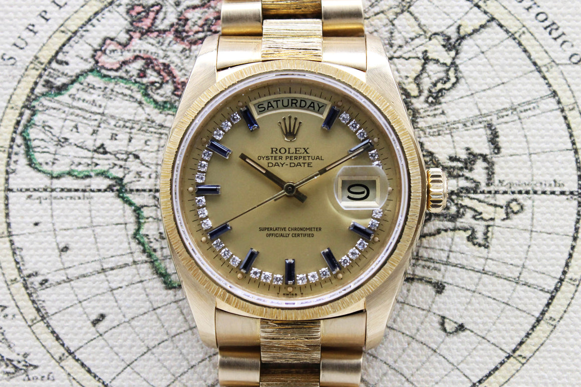 Rolex Day Date Ref. 18078 Year 1987 (Full Set)