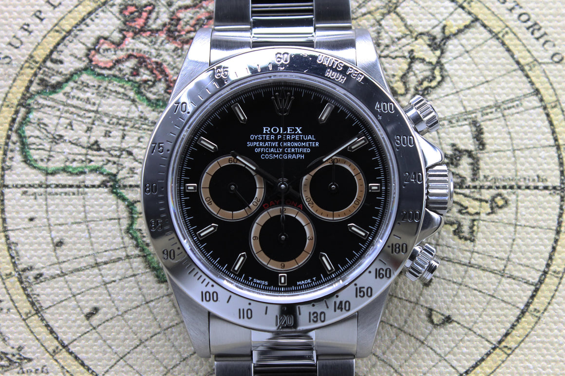 Rolex Daytona Patrizzi Inverted 6 Ref. 16520 Year 1992 (with Box & Papers)