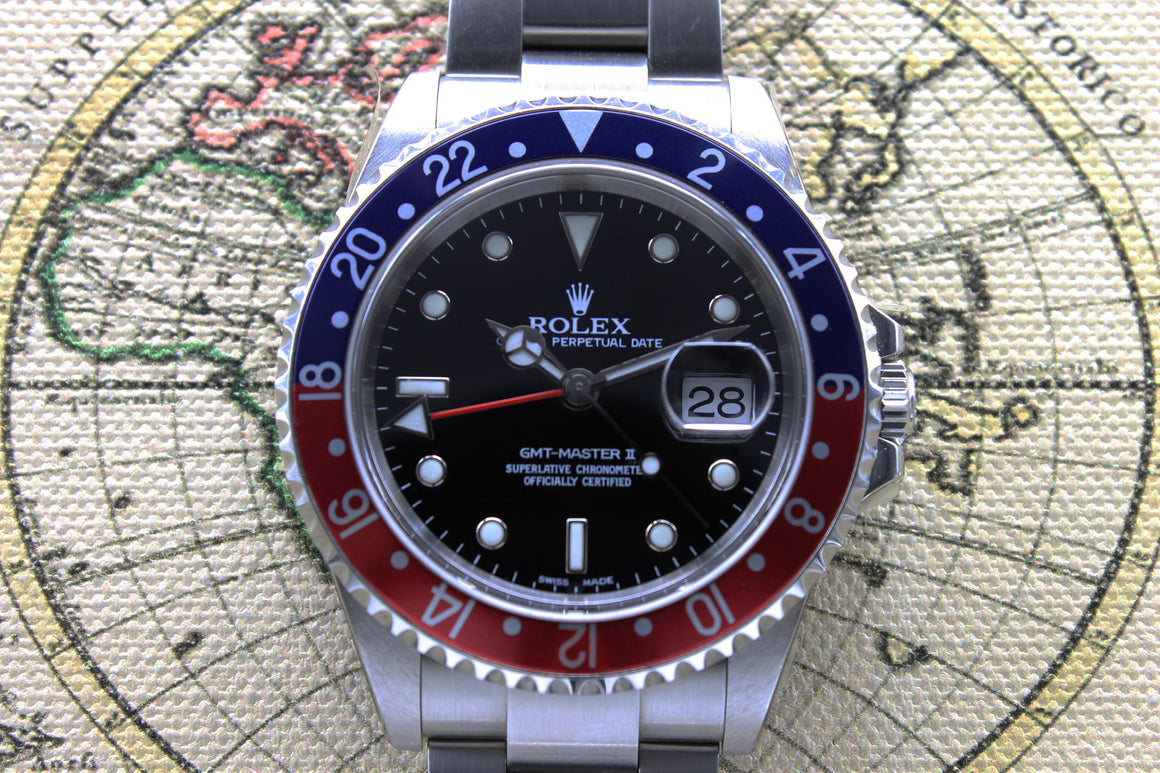 Rolex GMT Master NOS Ref. 16710 Year 2004 (Full Set)