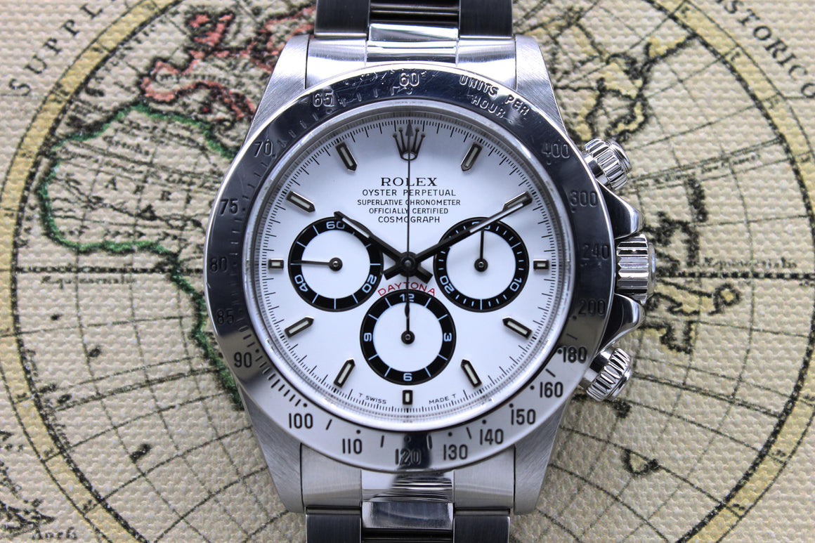 Rolex Daytona 'Zenith' Ref. 16520 Year 1996 (Full Set)