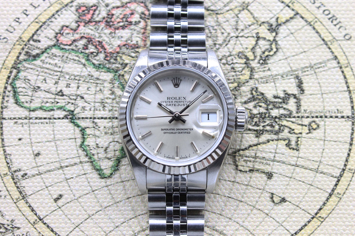 1987 Rolex Datejust Ladies St/WG Ref. 69174 (Full Set)