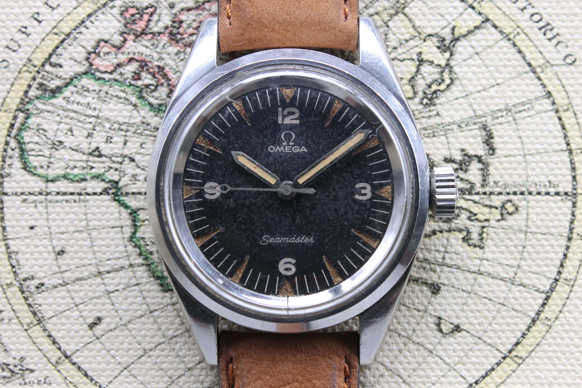 1963 Omega Railmaster Pakistan Air Force Ref. 135.004-63 (with Extract from Archives)