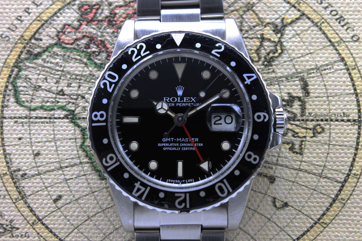 Rolex GMT Master Ref. 16750 Year 1984 (with Box & Papers)