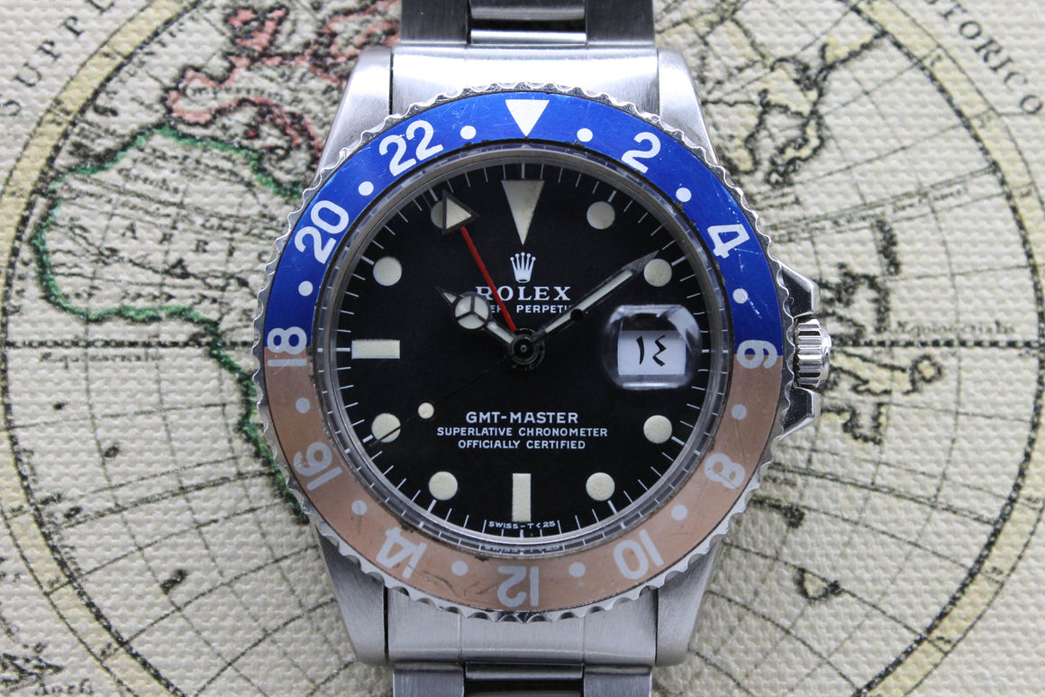 Rolex GMT Master MK2 Arabic Ref. 1675 Year 1973 (with Papers) - Price on Request