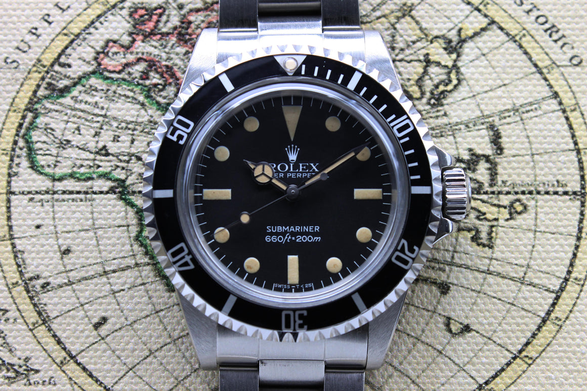 Rolex Submariner Maxi MK4 Ref. 5513 Year 1979