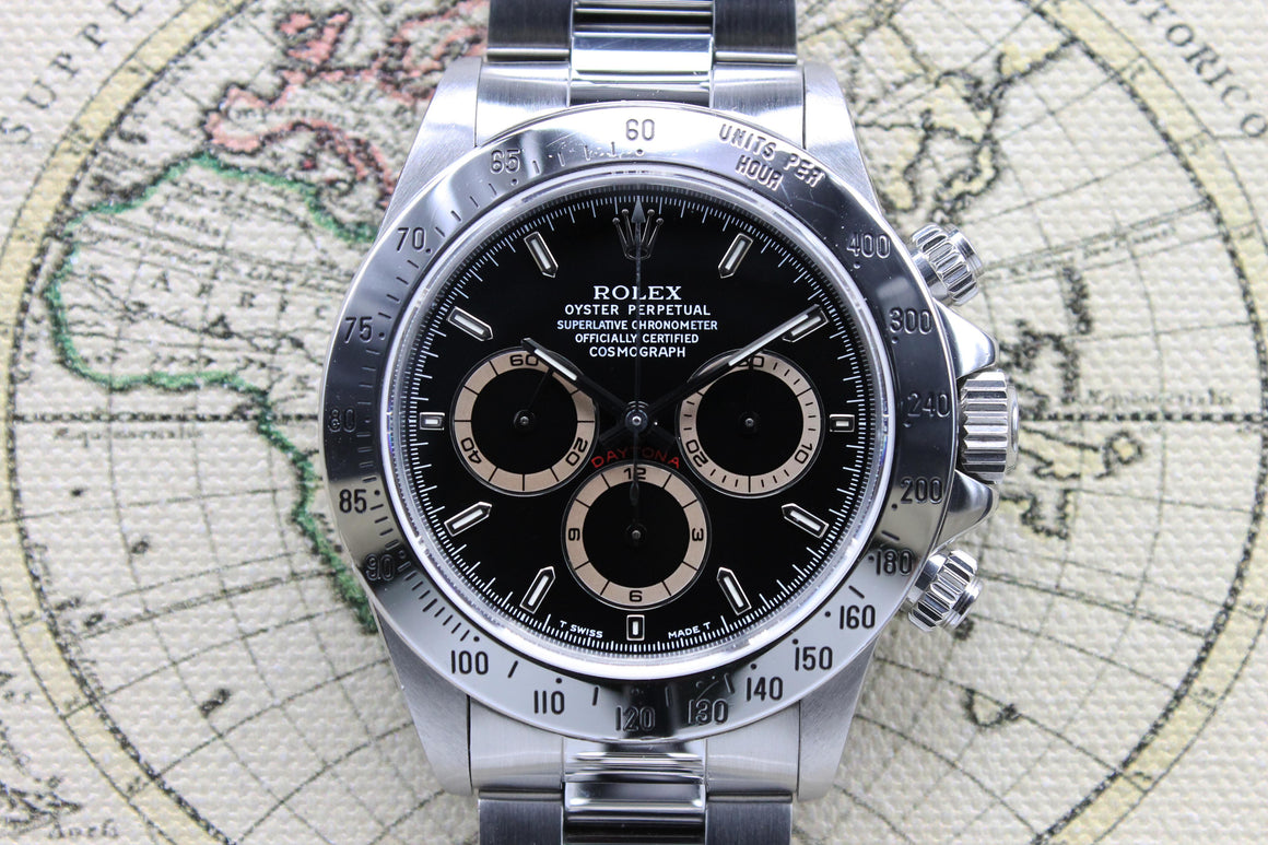 Rolex Daytona Patrizzi Ref. 16520 Year 1993 (Full Set) - Price on Request