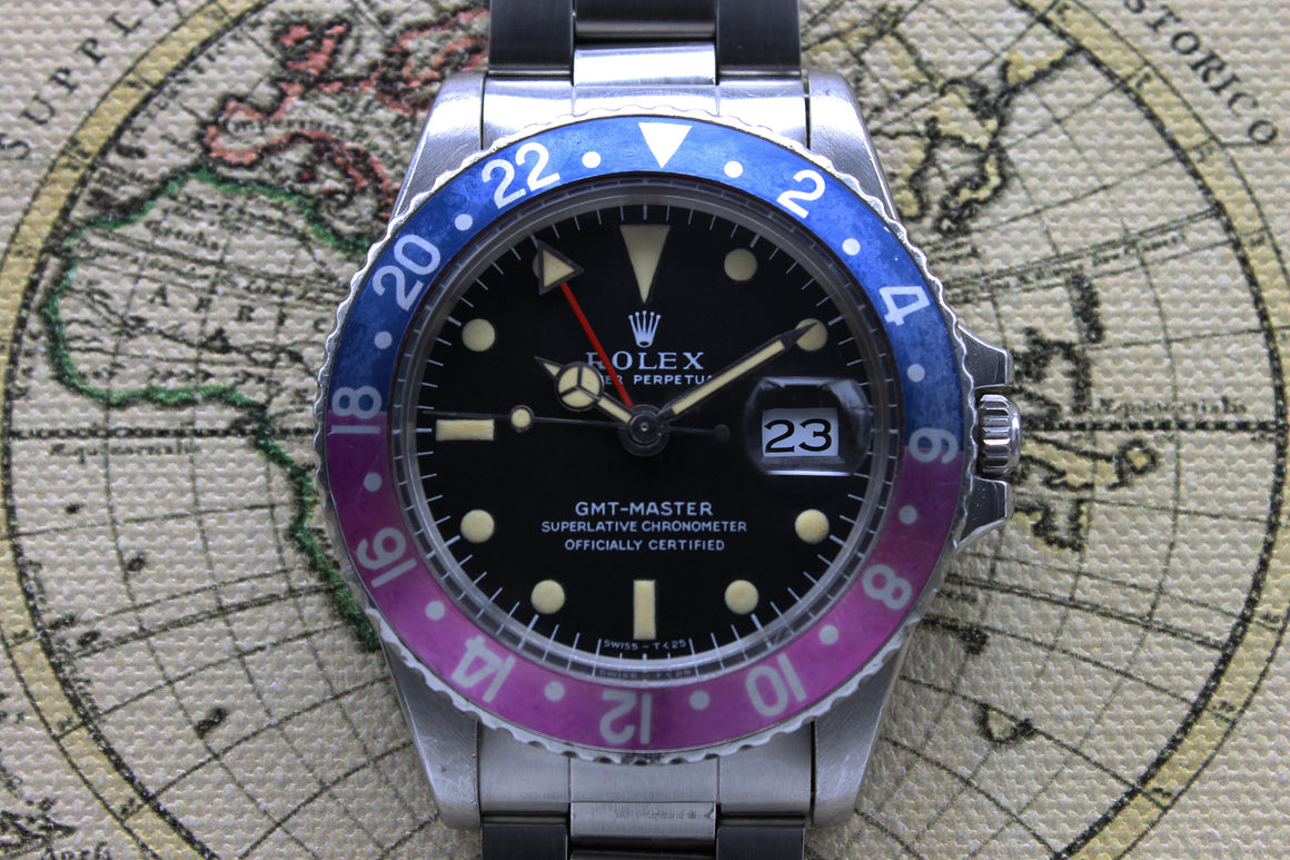 Rolex GMT Master MK1 Ref. 1675 Year 1968 (Full set)