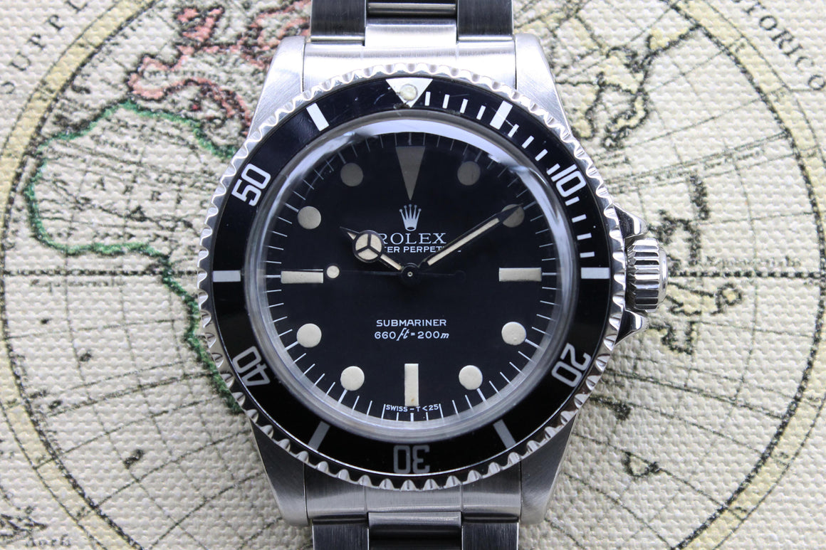 Rolex Submariner Maxi MK3 Ref. 5513 Year 1979