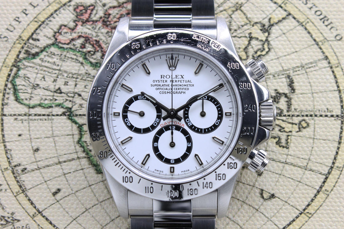 Rolex Daytona Zenith P - Serial Ref. 16520 Year 2000 (Full Set) - Price on request