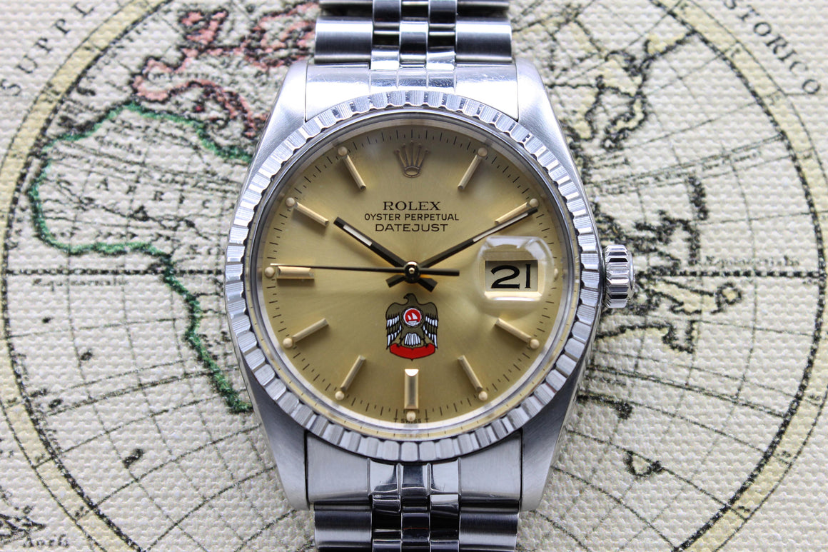 Rolex Datejust UAE Ref. 16030 Year 1980