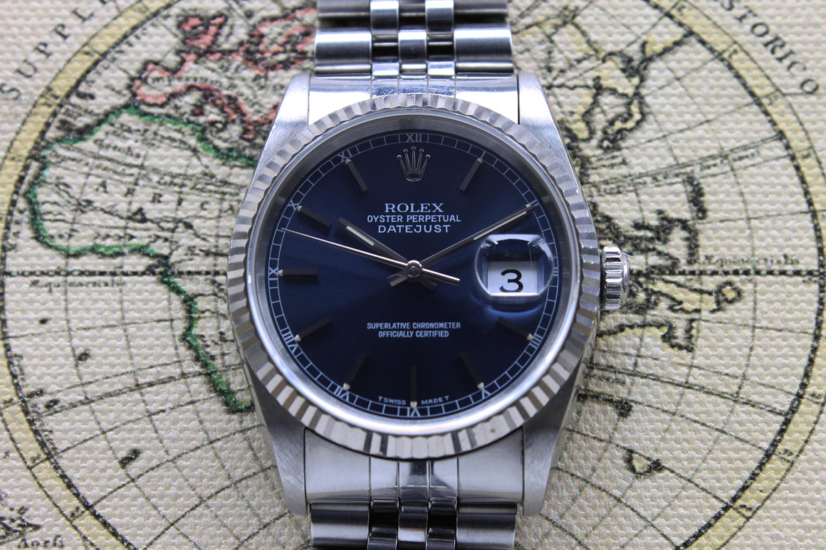 Rolex Datejust Ref. 16234 Year 1996 (with Papers)