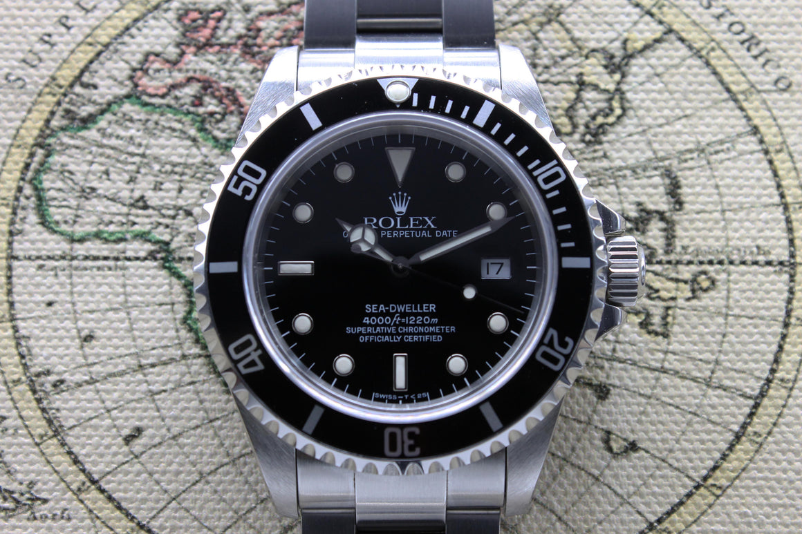 1997 - Rolex Sea Dweller Near NOS Ref. 16600 (Full Set)