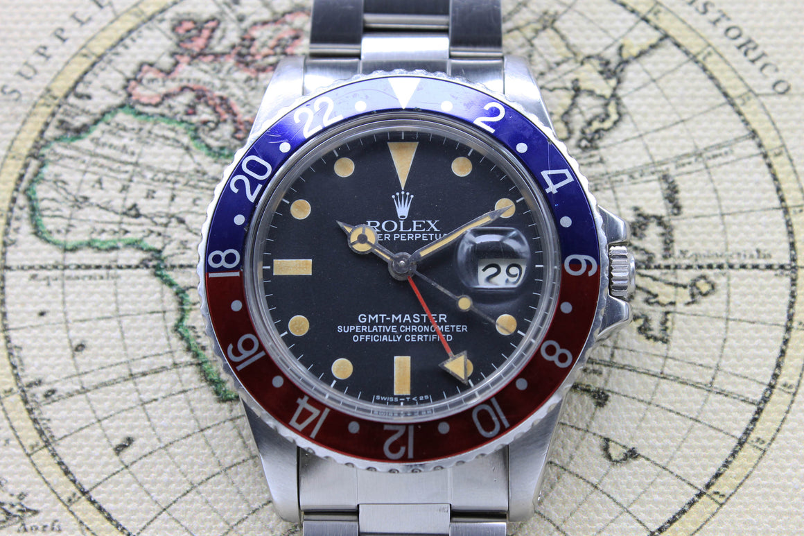 Rolex GMT Master Ref. 16750 Year 1983 (Full Set)