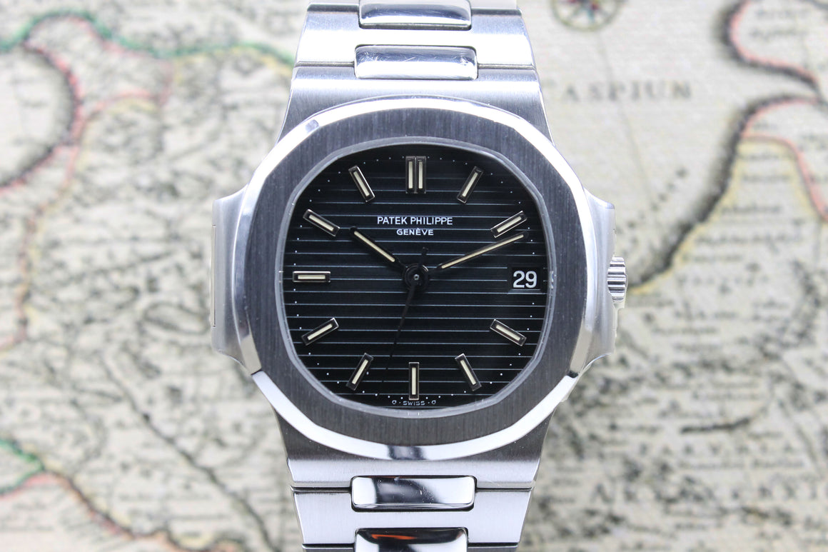 Patek Philippe Nautilus Ref. 3800 Year 1983 (Full Set) - Price on Request