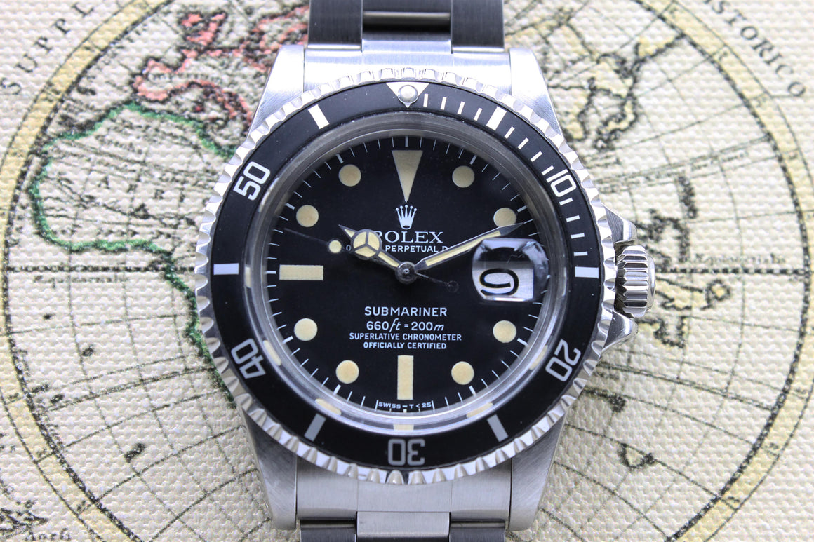 Rolex Submariner Ref. 1680 Year 1978 (with Box & Papers)