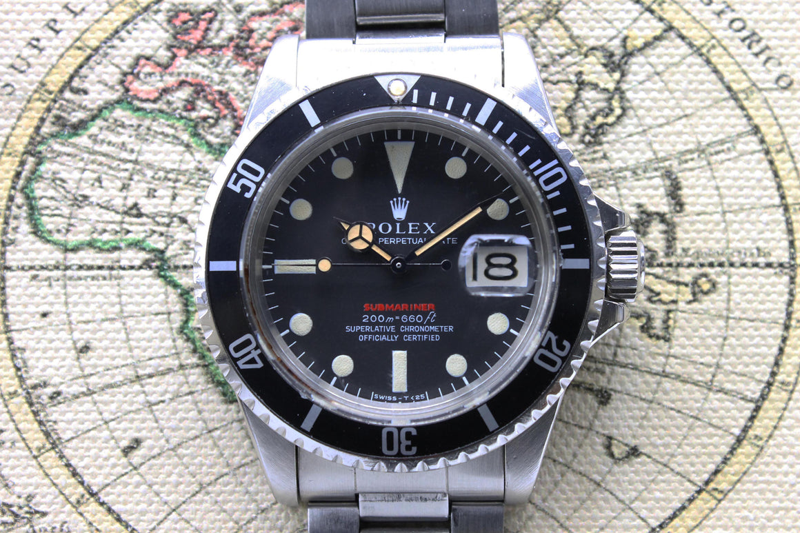 Rolex Red Submariner MK2 Ref. 1680 Year 1968 (Full Set) - Price on Request