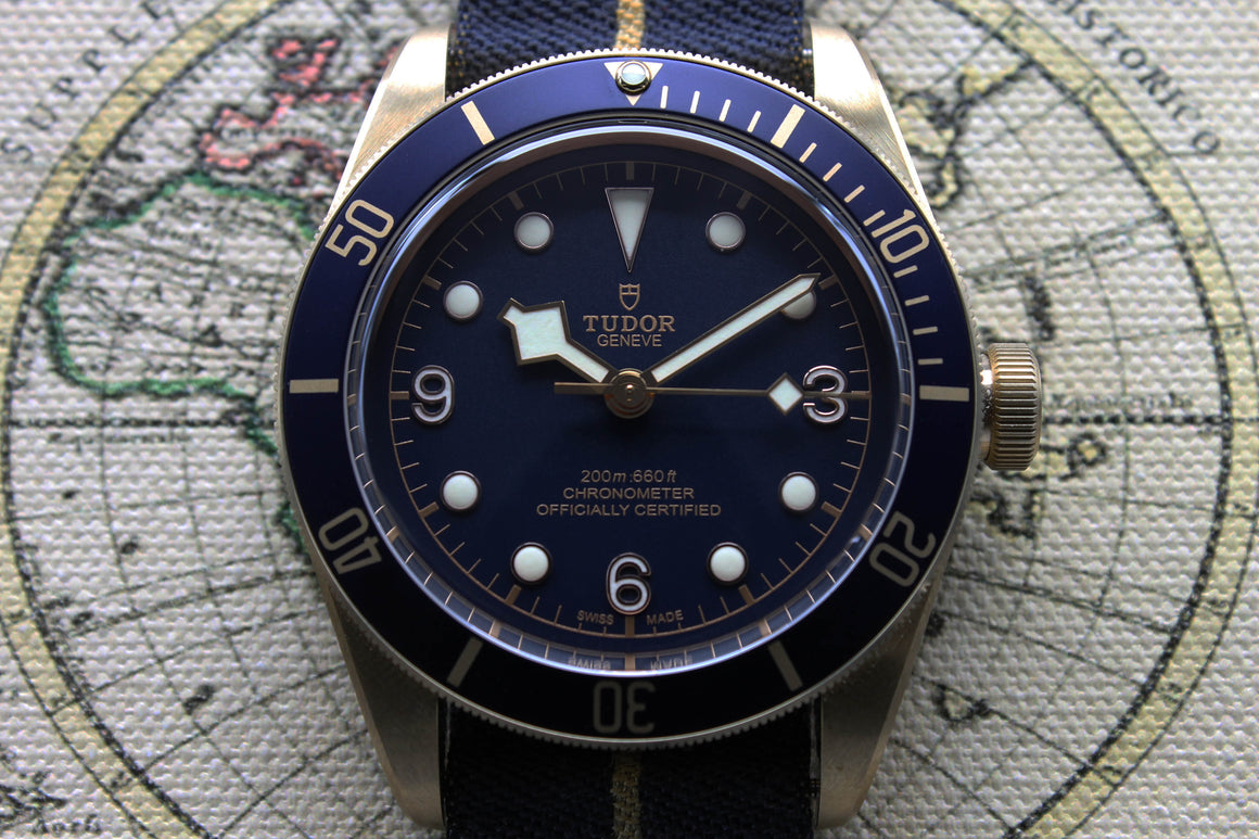 Tudor Black Bay Bronze Bucherer Ref. 79250BB Year 2017 (Full Set)