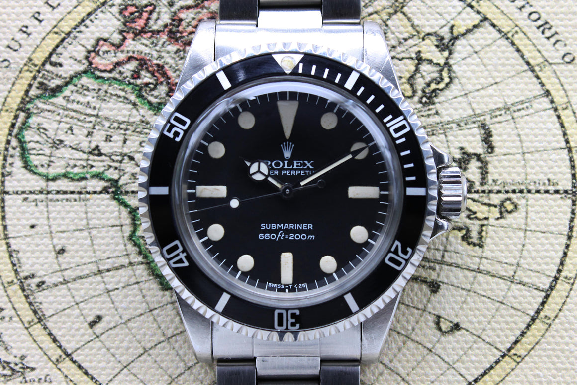 Rolex Submariner Maxi MK2 Ref. 5513 Year 1979 (Unpolished)