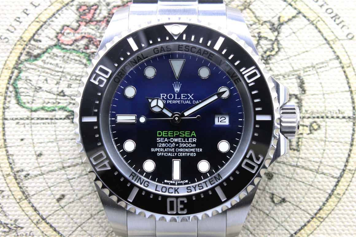 Rolex Deepsea James Cameron Ref. 11660 Year 2015 - (Full Set)