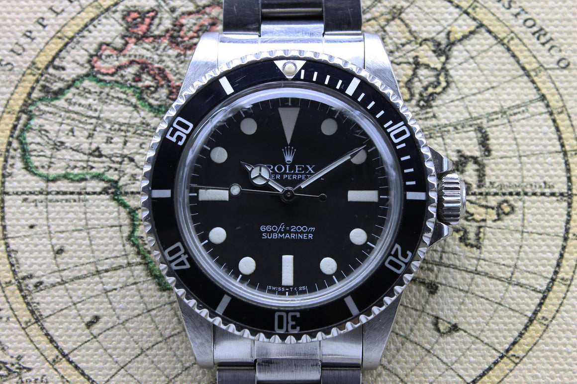 Rolex Submariner Maxi MK1 Ref. 5513 Year 1977